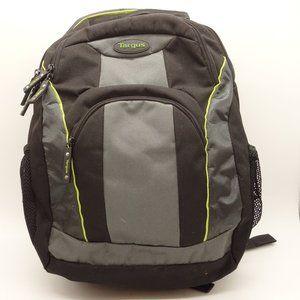 TARGUS Multi Pocket Backpack Black Gray Canvas Bag